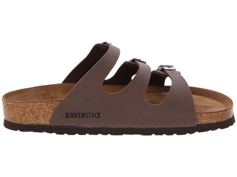 be59a1b3513 Birkenstock Florida Soft Footbed - Birkibuc Women s Sandals Mocha Birkibuc