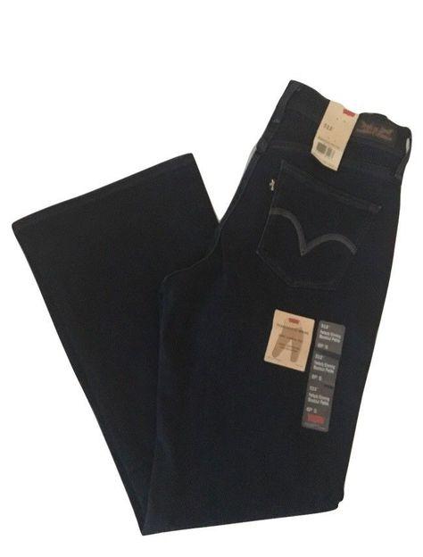 1d727ace Levis 512 Womens Jeans Size 6P Blue Perfectly Slimming Bootcut Denim #Levis  #BootCut