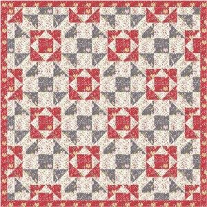 Grandmother Percys Puzzle quilt pattern and tutorial from Ludlow Quilt and Sew