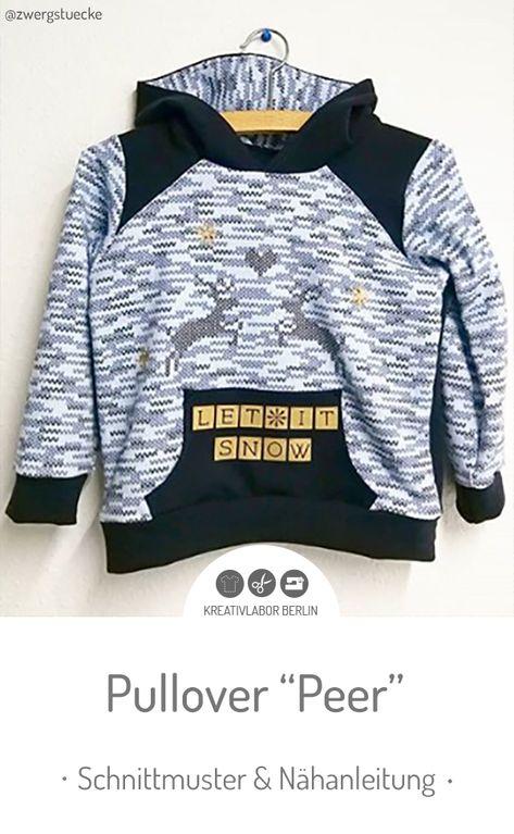 Pullover Peer   Designbeispiele Schnittmuster   Pullover