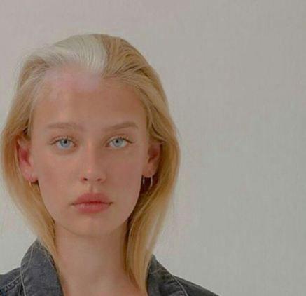 59 Super Ideas Hair White Streak Eyes Hair Pretty Face Pretty People Face