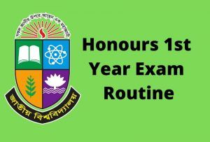 Honours 1st Year Exam Routine Get Easily In 2020 Education Information Education Info Importance Of Education