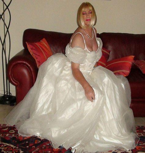 crossdressers in wedding gowns - Google Search