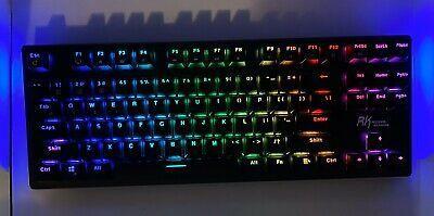 Rk Royal Kludge G87 Rgb Led Backlit Mechanical Gaming In 2020 Rgb Led Keyboard Computer Keyboard