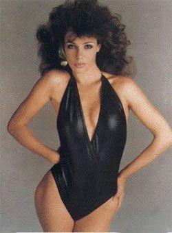 Kelly LeBrock 1980's.... lady in red!