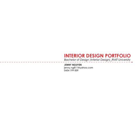 Interior Designs Folio