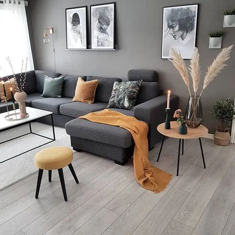 ✔75 grey small living room apartment designs to look amazing 12 ~ aacmm.com
