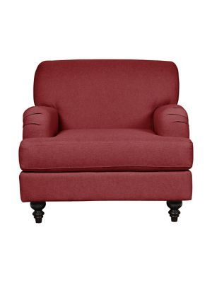 Home Studio Cambridge Fabric Chair With English Roll Arm