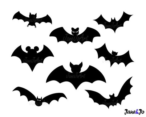 """""""Bat SVG ,Halloween SVG, Cut File circut,silhouette cameo ,iron on transfer T-shrit ,Digital files fabric design ,Bat clipart Vector Bat Dxf * * * * * * * * * * * * * * * * * * * * * * BUY 2, GET 1 FREE! Purchase any 2 items and get a 3rd item of equal or lesser value free! Add all three items to your cart and use coupon code BUYME to redeem your offer. Please make sure that the discount has been applied before you proceed with your payment. Add three items to your cart and don't miss our coupon"""