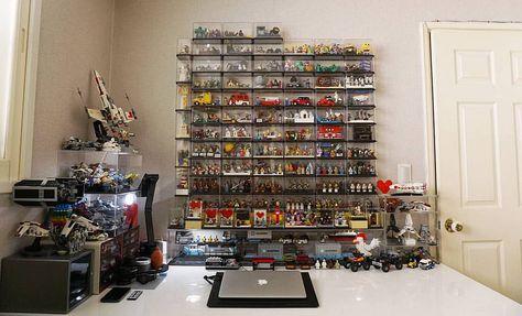_ 20160522 한달에 한번 책상정리하는 날 책상정리를 빙자한 레고정리 ㅋ    _ My desk? My legodsek!  _ #lego #legophotography #afol #legostagram #toy #kidults #moc #legodesk #레고 #레고사진 #창작레고 #월례행사 #책상정리 #레고정리 #레고당 #사사공방 #이게다가아냐 #반대쪽 은 #언제정리
