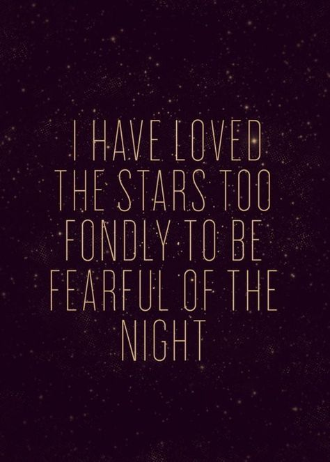 i have love the stars.