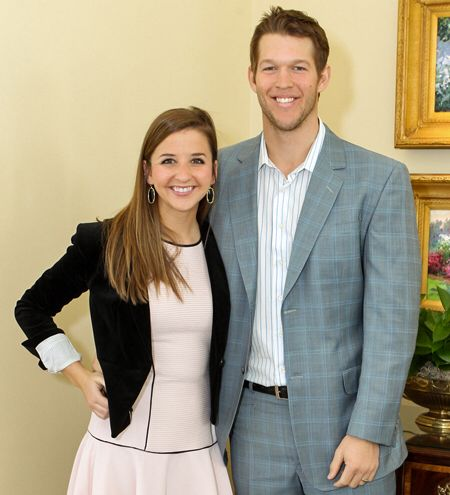 Love couple: Claytona and Ellen Kershaw