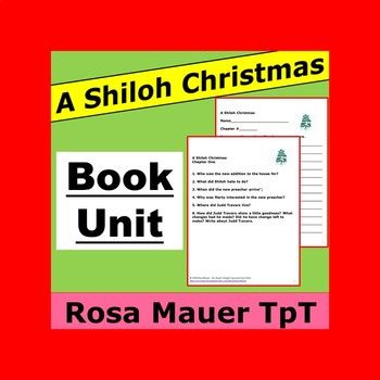 A Shiloh Christmas Book Unit K 12 Perfect Pinning With