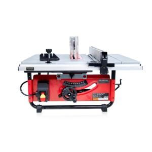 General International 15 Amp 10 In Commercial Bench Top Table Saw Ts4003 The Home Depot In 2020 Portable Table Saw Table Saw Blades Benchtop Table Saw