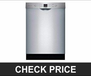 Bosch 24 100 Series Stainless Steel Best Dishwasher Hard Water Best Dishwasher Brand