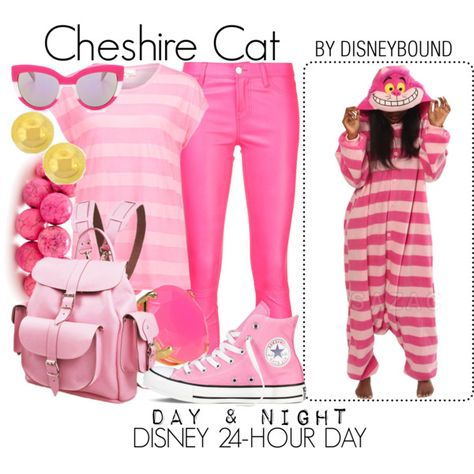 Cheshire Cat by leslieakay on Polyvore featuring TWINTIP, J Brand, Converse, Grafea, Lord & Taylor, MARC BY MARC JACOBS, disney, disneybound, disneycharacter and disney24