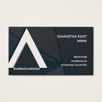 Modern Professional Architect Business Card Architect Gifts