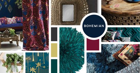 Bohemian Interior Design Style Nbsp Sources From Top Left