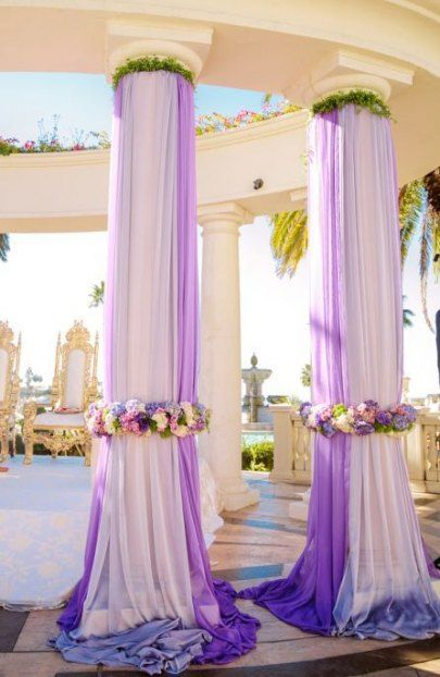 58 Trendy Wedding Backdrop Ideas Indian Lights Wedding Columns Wedding Deco Wedding Backdrop