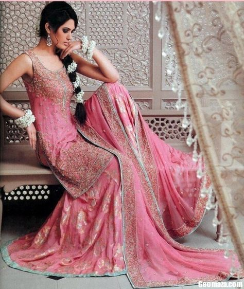 This is the image gallery of Pakistani Bridal Walima Dresses Collection 2014. You are currently viewing Pakistani Bridal Walima Dresses Collection 2014 (23). All other images from this gallery are given below. Give your comments in comments section about this. Also share stylehoster.com with your friends.    #walimadresses, #bridalwalimadresses, #bridaldresses, #pakistaniwedding