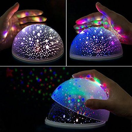 Newest Night Light Multiple Colors Star Light Rotating Projector With Timer Auto Shut For Kids And Baby B Star Night Light Night Light Projector Star Projector