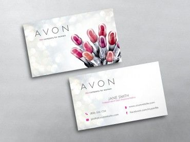 Avon Business Cards Free Shipping Free Business Cards Marketing Business Card Avon