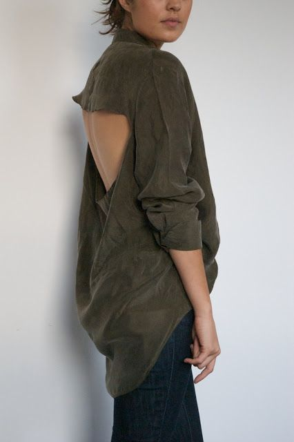 DIY Weekly – Cut Out Back Shirt « a pair & a spare