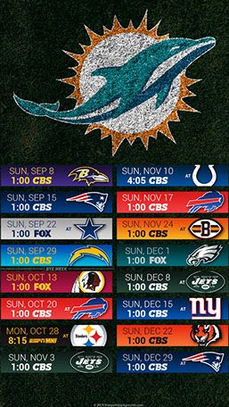 Miami Dolphins 2019 Mobile Field Nfl Schedule Wallpaper Miami Dolphins Wallpaper Miami Dolphins Miami Dolphins Schedule