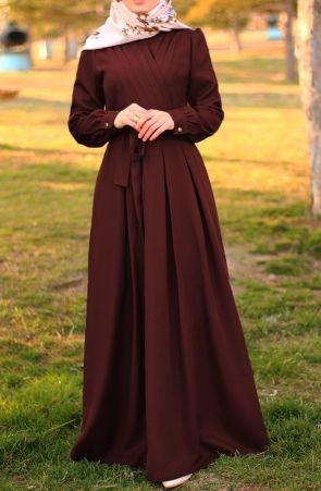 Aslisah Elbise Bordo Tesettur Elbise Abiye Suhneva 2020 Elbise The Dress Elbise Modelleri