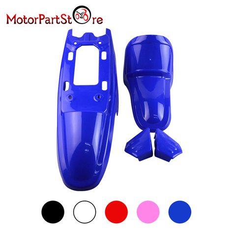 Yamaha PW50 PY50 Body Kit Plastic Front /& Rear Fender Seat Fuel Tank Kit BLUE