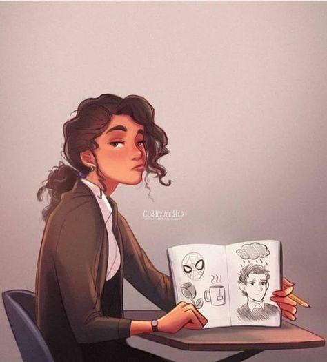 30+ How to draw hair | Sky Rye Design