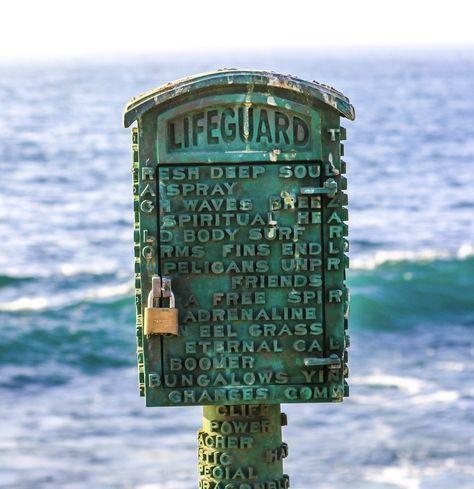 Lifeguard At Sunset | My Photography | Pinterest | Lifeguard