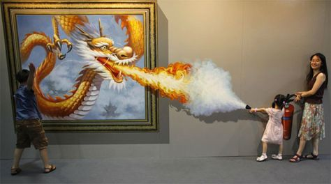 Magic Art Special Exhibition in Hangzhou (China) which displays interactive 3D art by 20 talented South Korean artists.
