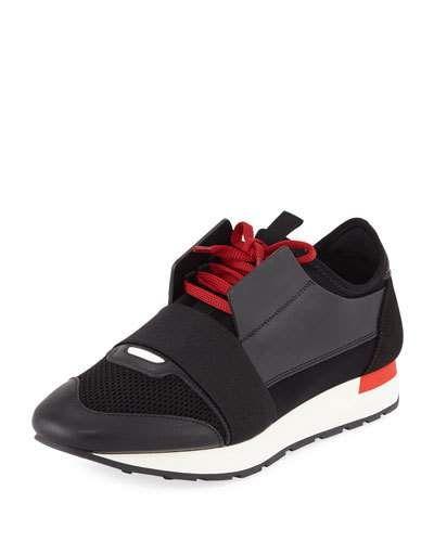 Leather Sneakers   Balenciaga mens