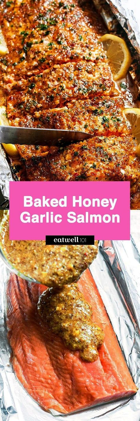 #eatwell101 #cleanup #easiest #recipe #salmon #dinner #baked #quick #zero #with #easy #foil #ever #tin #inin – Easiest tin foil ever! Quick, easy with zero clean-up! - byin – Easiest tin foil ever! Quick, easy with zero clean-up! - by  This Honey Mustard Salmon recipe only takes 25 minutes to make in the oven or on the grill, and tastes absolutely DELICIOUS!  Quick and easy honey garlic salmon baked and ready in under 30 minutes. With a sweet and savory marinade and sauce of garlic, gin...
