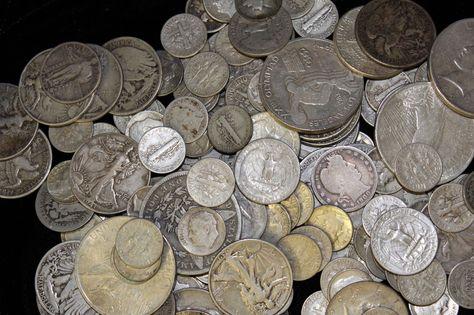 $5 FACE SILVER DOLLAR SILVER QUARTERS 90/% US SILVER COINS SILVER  BULLION