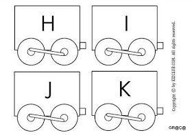 Trem Do Alfabeto Para Imprimir Desenho De Trem Livros De Tecido