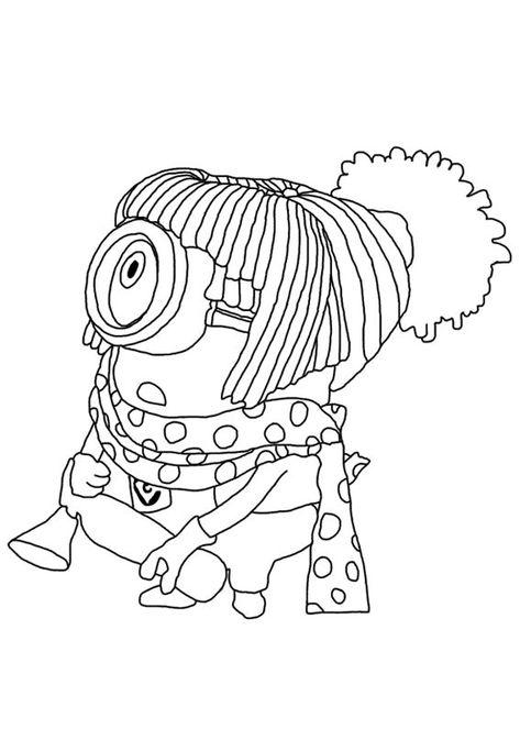 Minion Disegni Per Bambini Da Colorare
