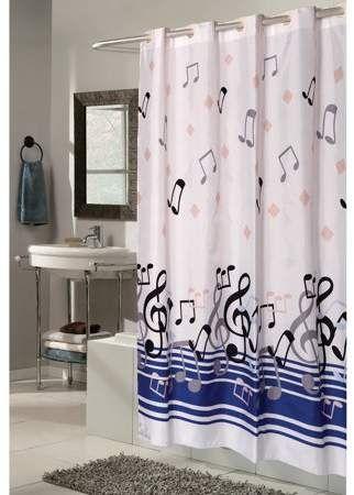 Home Fabric Shower Curtains Shower Curtains Walmart Hookless