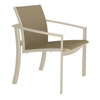 Tropitone Kor Patio Dining Chair Frame Color Sonora Seat Color