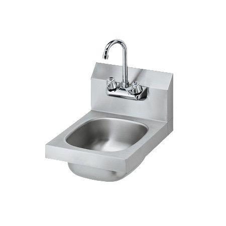 Krowne Hs 9l Low Lead 12 Space Saver Wall Mount Hand Sink With Gooseneck Faucet Sink Faucet Best Kitchen Faucets