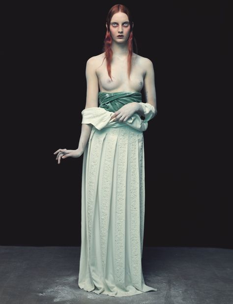 Publication: The Wild Magazine Issue: #5 Spring 2014 Title: Arsenic Blues Model: Codie Young Photography: Nicolas Valois Styling: Guillaume Boulez Hair: Roberto Pagnini Make-up: Topolino