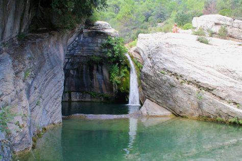 Una selección de piscinas naturales de Cataluña · Familias en Ruta