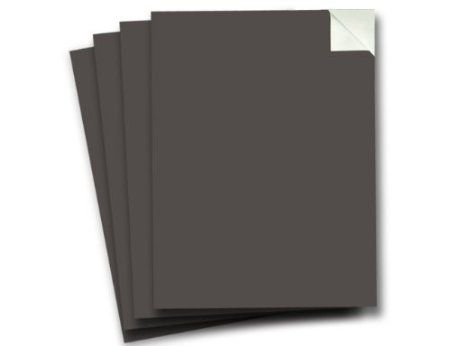 Amazon.com: Wallies Peel and Stick Chalkboard Sheet, Slate Gray, Set of 4: Home & Kitchen