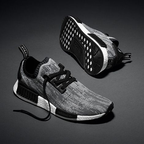 adidas NMD Primeknit Release Date. The next adidas NMD to release is the  adidas Primeknit dressed in a Black Grey White Primeknit with Boost