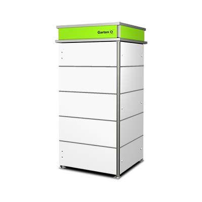 Mulltonnenbox Mullbox Aus Metall Oder Edelstahl Garten Q Gmbh Mulltonnenbox Mullboxen Schliessfacher