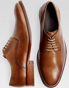 Cole Haan Williams Taupe Oxford Shoes