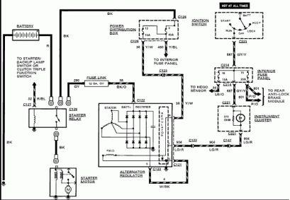 15 Ford Alternator Wiring Diagram Alternator Diagram Electrical Wiring Diagram