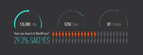 "WordPress Infographic 2013 – A Visual Representation of Matt's ""State of the Word"""