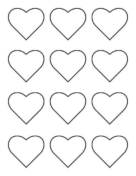 The Iced Queen Royal Icing Chain of Hearts βαφτιση Pinterest - macaron template